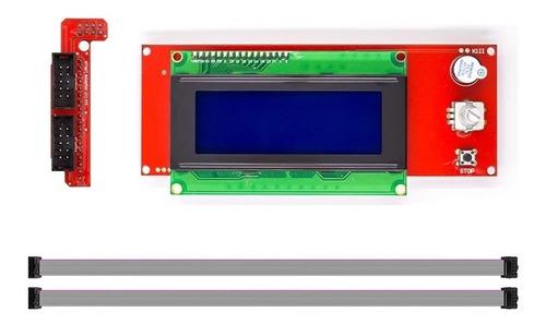 Pantalla - Panel Impresora 3d Lcd 20x04 Prusa I3 Ramps 1.4