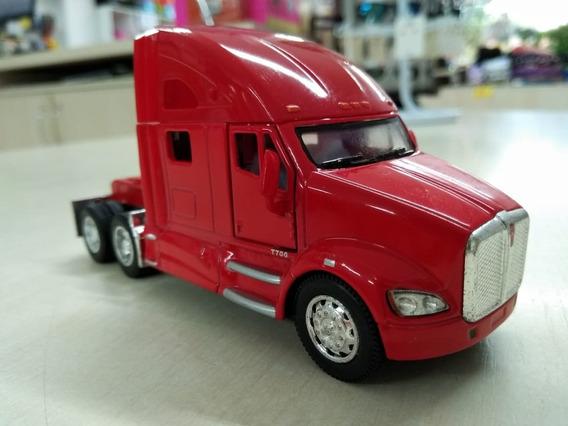Miniatura Cavalo Kenworth Caminhão Vermelho Escala 168