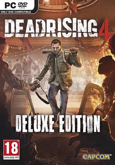 Dead Rising 4 + 2 Jogos ( Mídia Física ) Pc - Dvd