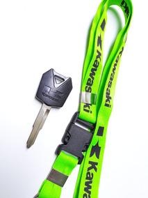 Chave Virgem Kawasaki Z750, Er6,versys, Zx6 Zx10 + Cordão
