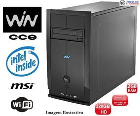 Desktop Win Cce Cm23 Intel, Memória 2gb Hd320