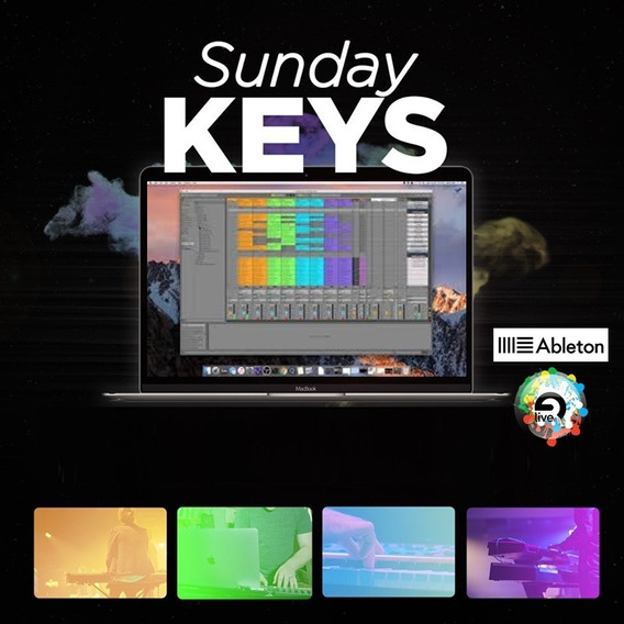 Sunday Keys Para Ableton Live - Worship