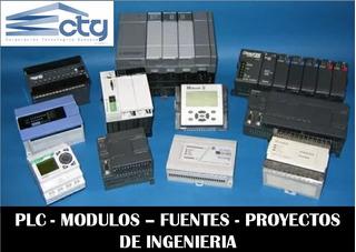 Plc, Modulos, Fuentes, Ingenieria, Proyectos