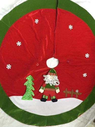Decoración Adorno Navidad Pie De Arbol De 99cm