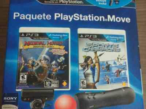 Paquete Playstation Move