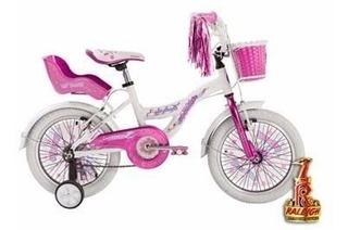 Bicicleta Raleigh Cupcake Rodado 12 Niña Nena Planet Cycle