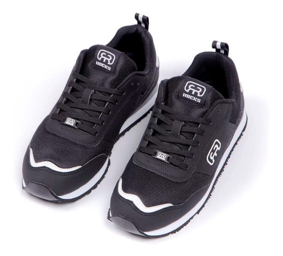 Tênis Hocks Nuv Skate Black / White Lançamento Original