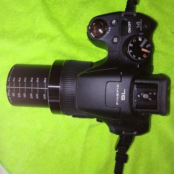 Camera Digital Fujifilm 30x Zoom Finepixsl310 14 Mega Baixei