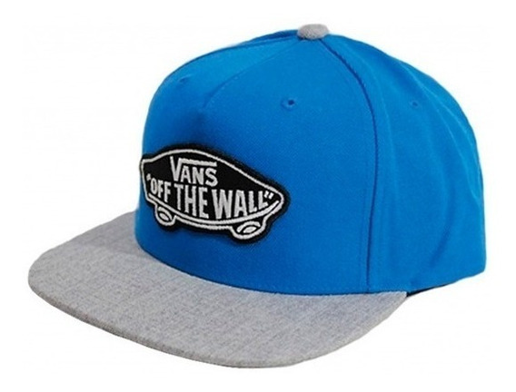 Gorra Vans Classic Snap Patch Blue Original!