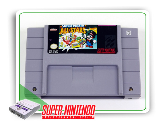 Super Mario All-stars Super Nintendo Original Snes