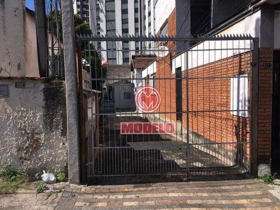 Casa Com 1 Dormitório Para Alugar, 25 M² Por R$ 550/mês - Alto - Piracicaba/sp - Ca2827