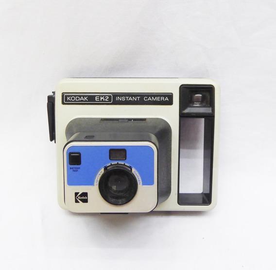 Câmera Fotográfica Marca Kodak - Ek2 - Polaroid