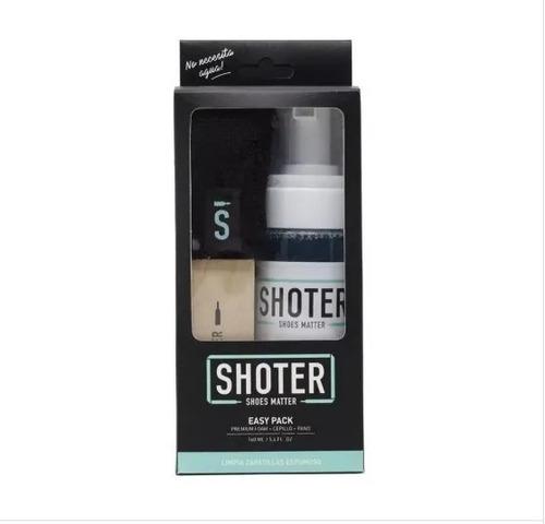 Imagen 1 de 1 de Limpia Zapatillas Shoter Easy Pack-kit(espuma+cepillo+paño )