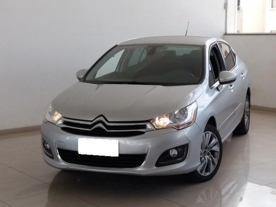 Citroën C4 Lounge Tendance 2.0 16v (flex) (aut) 2015 Prata