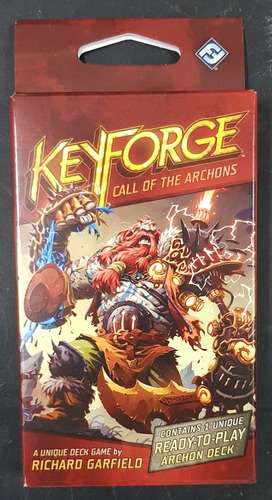 Keyforge Call Of The Archons - Archon Deck Nuevo !!!