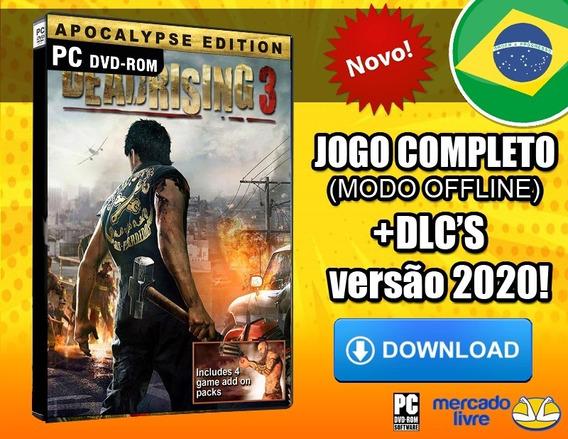 Dead Rising 3 Apocalypse Edition - Pc Português-br Digital
