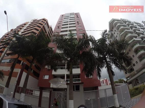 Apartamento Com 2 Dormitórios Somente 200 Metros Da Praia No Canto Do Forte!!! - Ap1127