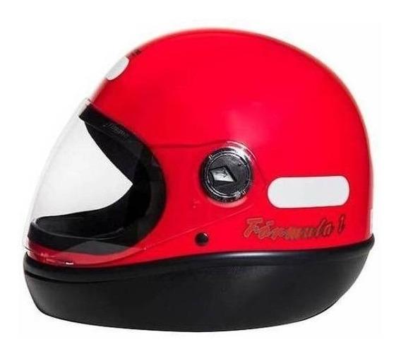 Capacete para moto integral San Marino Classic vermelho M