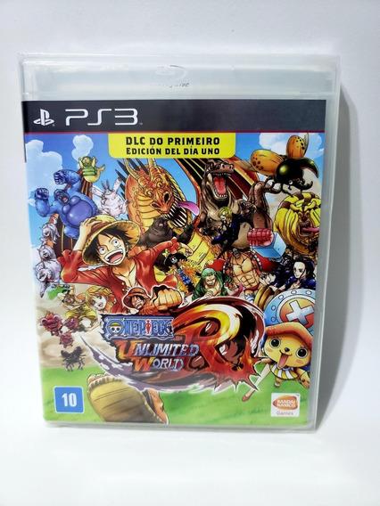 Jogo One Piece Unlimited World Para Ps3 Física Novo Lacrado