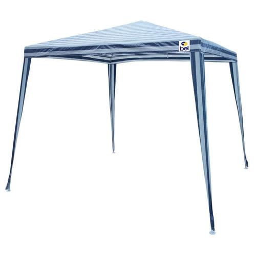 Tenda Gazebo 3x3m Montável Camping Festa Piscina Evento Azul