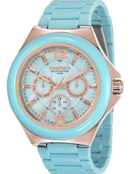 Relógio Mondaine Feminino Multifunction Nota 99331lpmvrf4