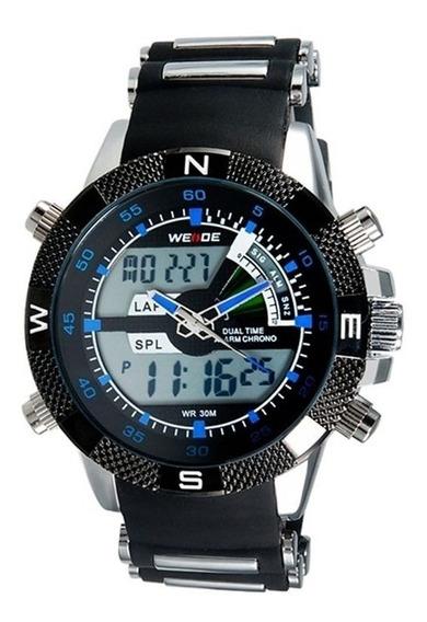 Relógio Masculino Digital Esportivo Casual Weide