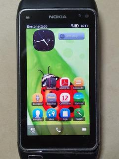 Smartphone Nokia N8 Câmera 12mp Tela 3,5