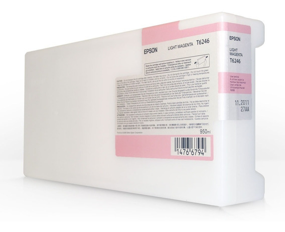 Cartucho Plotter Epson Light Magenta T478 Pro 9500 220ml