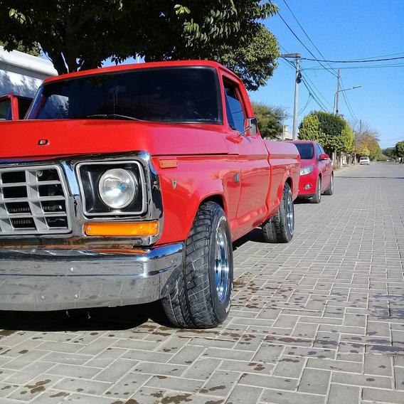 Ford F-100 74 V8 Gnc Exc Estado. Rec Auto