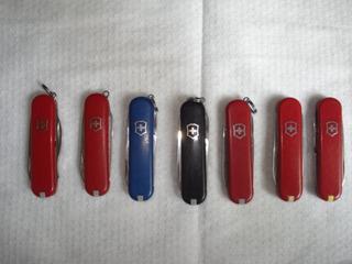 Lote Com 7 Canivete Suiço Original Antigo