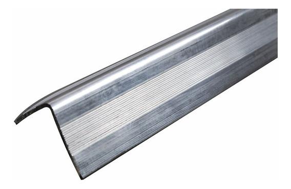 Ferragens P/ Case Cantoneira Alumínio 25mm 3 Metros Cromado