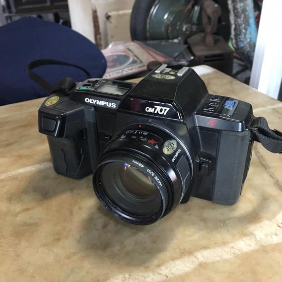 Câmera Fotográfica Antiga Olympus Om 707 Ñ Nikon 1490