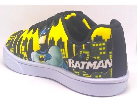 Tênis Batman Tam 26 Ao 33