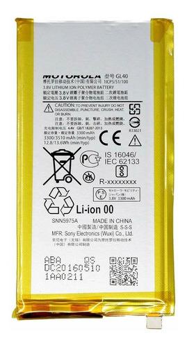 Batería Para Motorola Moto Z Play Droid Xt1635 Gl40