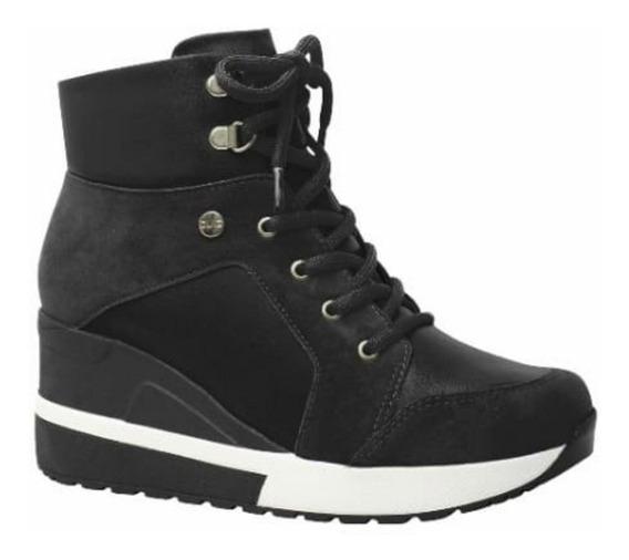 Tênis Bota Plataforma E Anabela Sneakers Quiz 67-37924