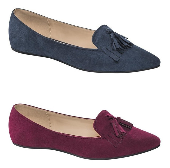 Kit De 2 Balerina Casual Pink By Price Shoes 3906 San 178315