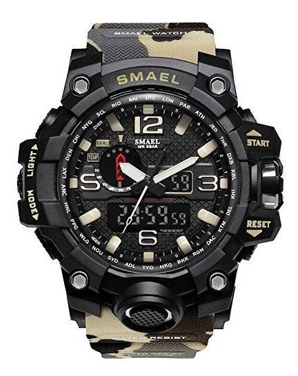 Reloj Deportivo Digital Militar Para Hombre Resistente Al