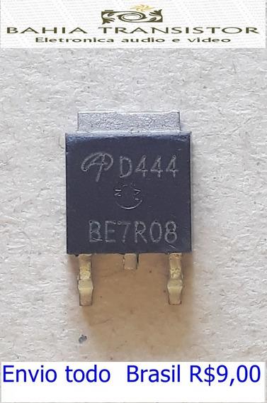 D444 Aod444 Smd To252 = Kit Com 2 Peças Novo E Original