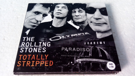 Cd + Dvd The Rolling Stones Totally Stripped Duplo