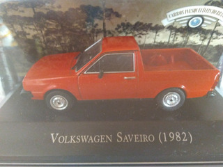 Miniatura Volkswagen Saveiro 1982 Escala 1/43