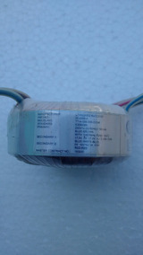 02 Unidades Transf Toroidal 17v/0/17v 450ma E 10v 1amp