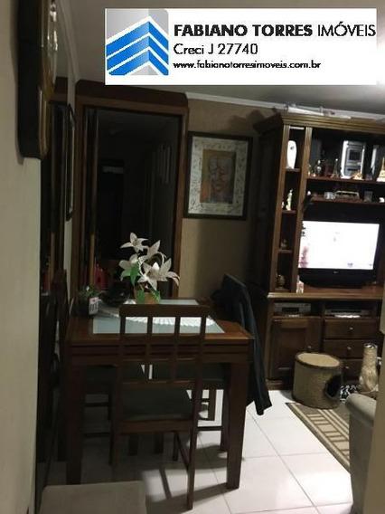 Apartamento Para Venda Em São Bernardo Do Campo, Tiradentes, 2 Dormitórios, 1 Banheiro, 2 Vagas - 1414_2-593769