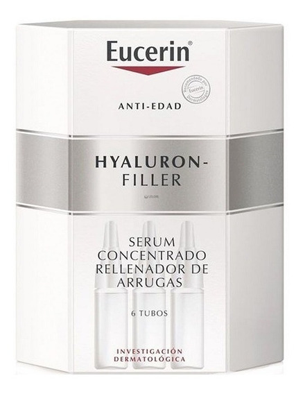 Eucerin Hyaluron Filler Concentrado Antiedad 6 Tubos