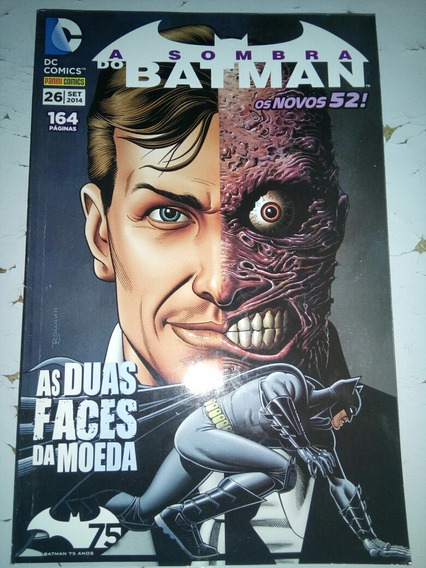 Hq A Sombra Do Batman As Duas Faces Da Moeda Vol26