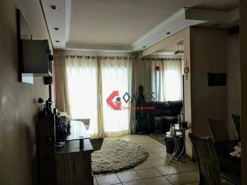 Apartamento Com 2 Dormitórios À Venda, 70 M² Por R$ 370.000,00 - Vila Euclides - São Bernardo Do Campo/sp - Ap2739