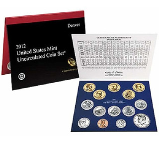 2012 United States Mint Uncirculated Coin