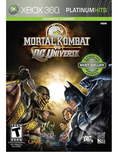 Mortal Kombat Vs. Dc Universe Xbox 360 Mídia Física