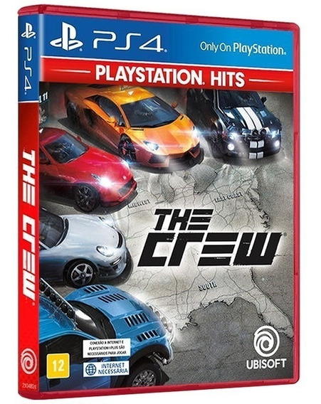 The Crew - Midia Fisica Original E Lacrado - Ps4