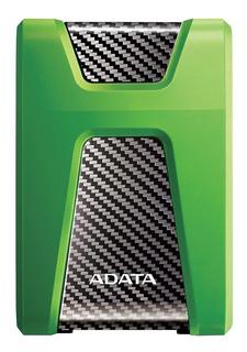 Disco duro externo Adata HD650X AHD650X-1TU3 1TB verde