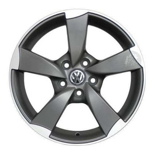 Llanta Audi A1 Negra Rodado 15 Vw Polo Virtus Fox Cavallino